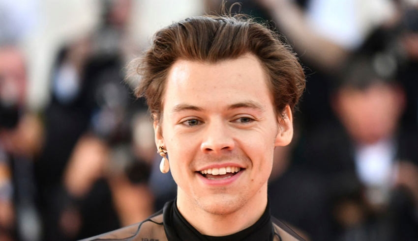 dd084883f Harry Styles leads Gucci's new minted genderless fragrance campaign