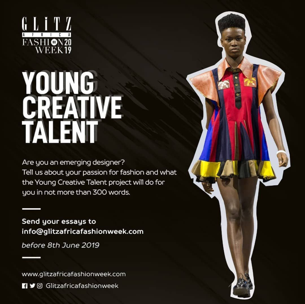 Glitz Africa Fashion Week 2019 Call For Designers Young Creative Talent Glitz Africa Magazine