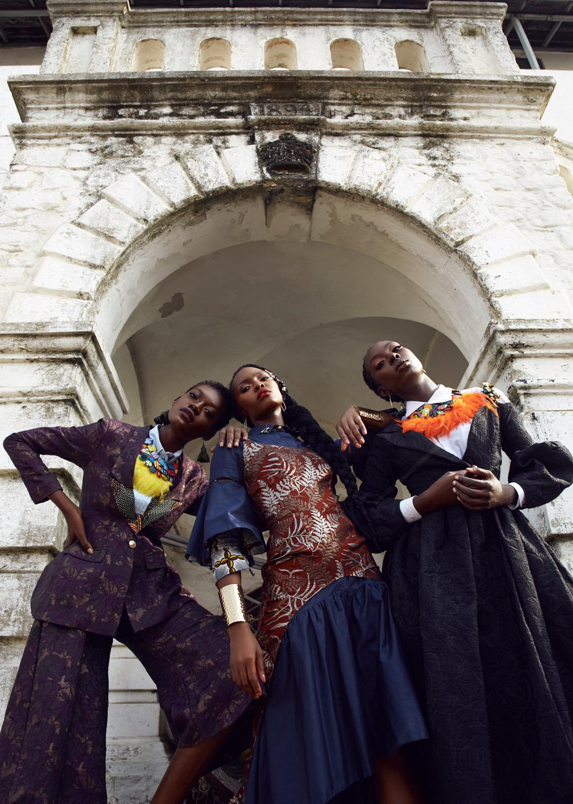 Glitz Africa, Mame Adjei, Christie Brown
